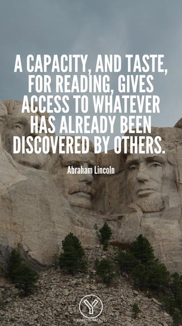 Die Fähigkeit und der Geschmack zum Lesen geben Zugang zu allem, was bereits von anderen entdeckt wurde.  Es ist der Schlüssel oder einer der Schlüssel zu den bereits gelösten Problemen.